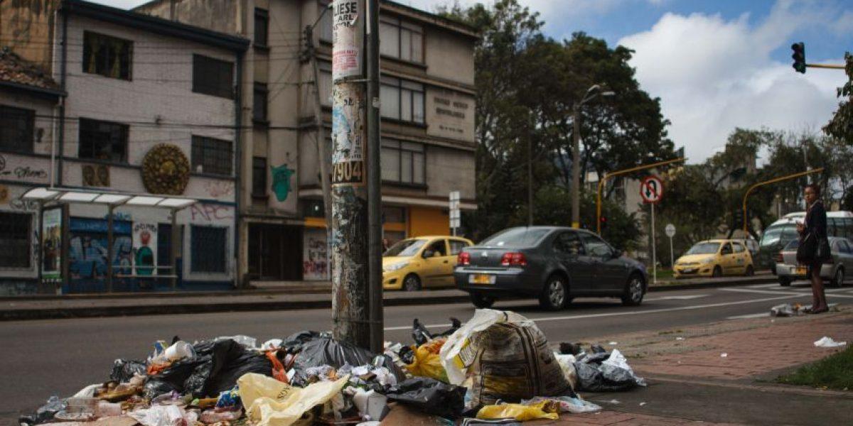 Fotos: Las basuras se adueñaron de las calles en Bogotá