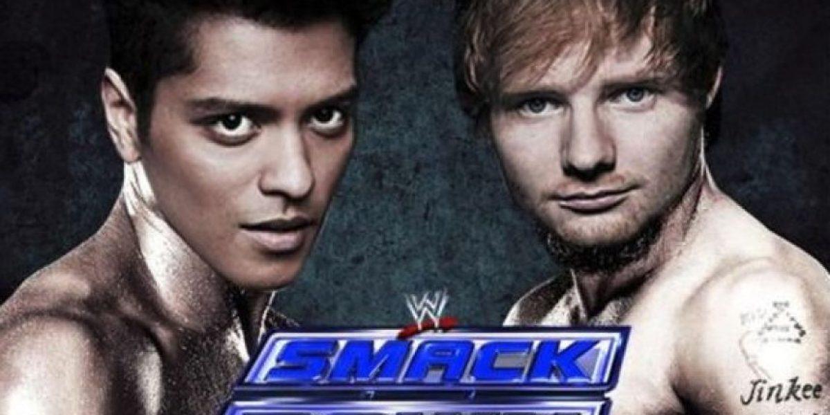 Así fue la pelea entre Ed Sheeran y Bruno Mars por los premios MTV VMA