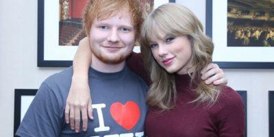 Sheeran y Mars iniciaron esta pelea para burlarse de Taylor Swift y Nicki Minaj, Foto:Getty Images