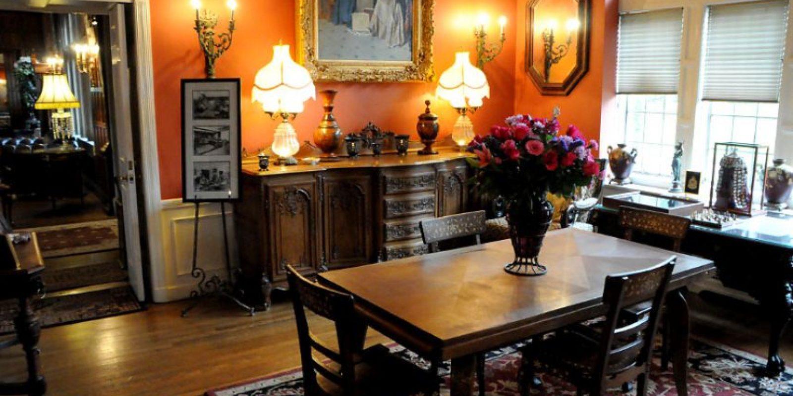 También se puede reservar para hacer eventos Foto:Thornewoodcastle.com