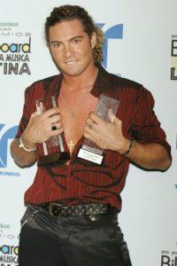El cantante español alcanzó la popularidad en el año 2001. Foto:Getty Images