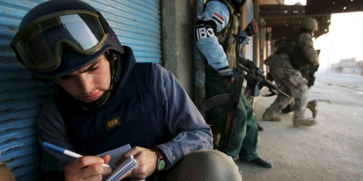 Reporteros Sin Fronteras: 25 periodistas rehenes de grupos extremistas