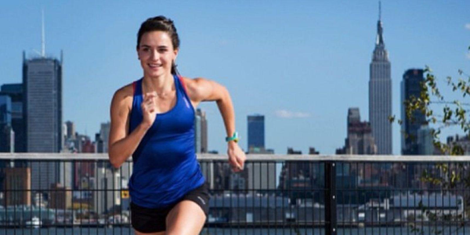 La estadounidense de 26 años forma parte del evento de los tres mil metros con obstáculos Foto:Vía instagram.com/ashleyhig