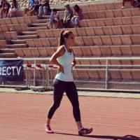 Compite en 100 y 200 metros y relevo de 4X100 metros Foto:Vía instagram.com/isijimenezi