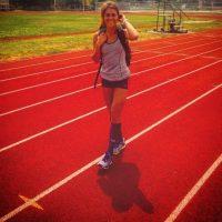 La estadounidense está presente en el evento mil 500 metros Foto:Vía instagram.com/corymcgeeruns