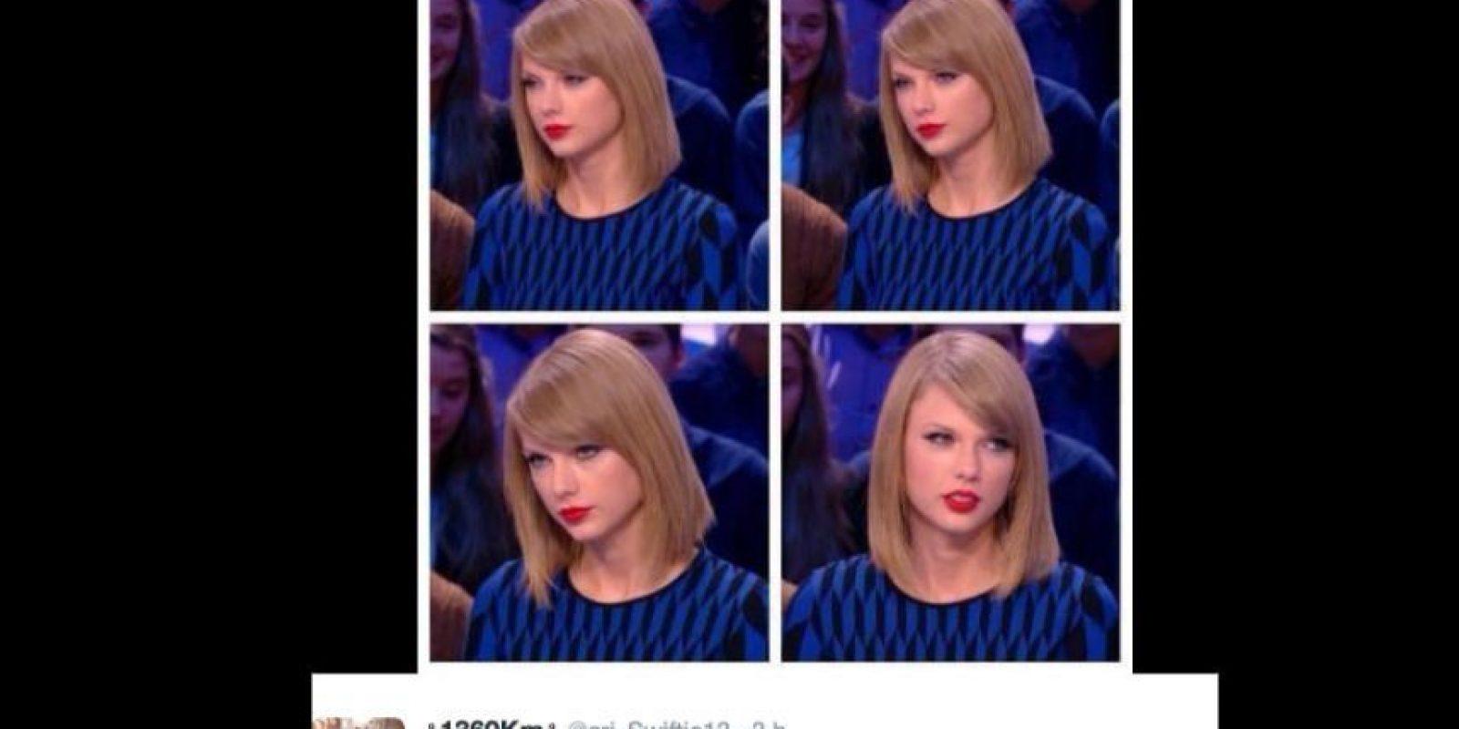 Sobre todo, porque Taylor Swift no tenía nada que decir. Foto:vía Twitter