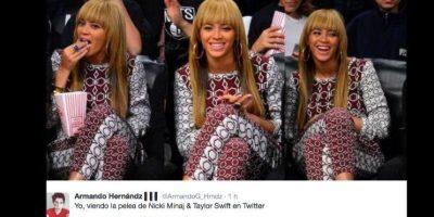 Han sido felices viendo discutir a las dos divas pop. Foto:vía Twitter