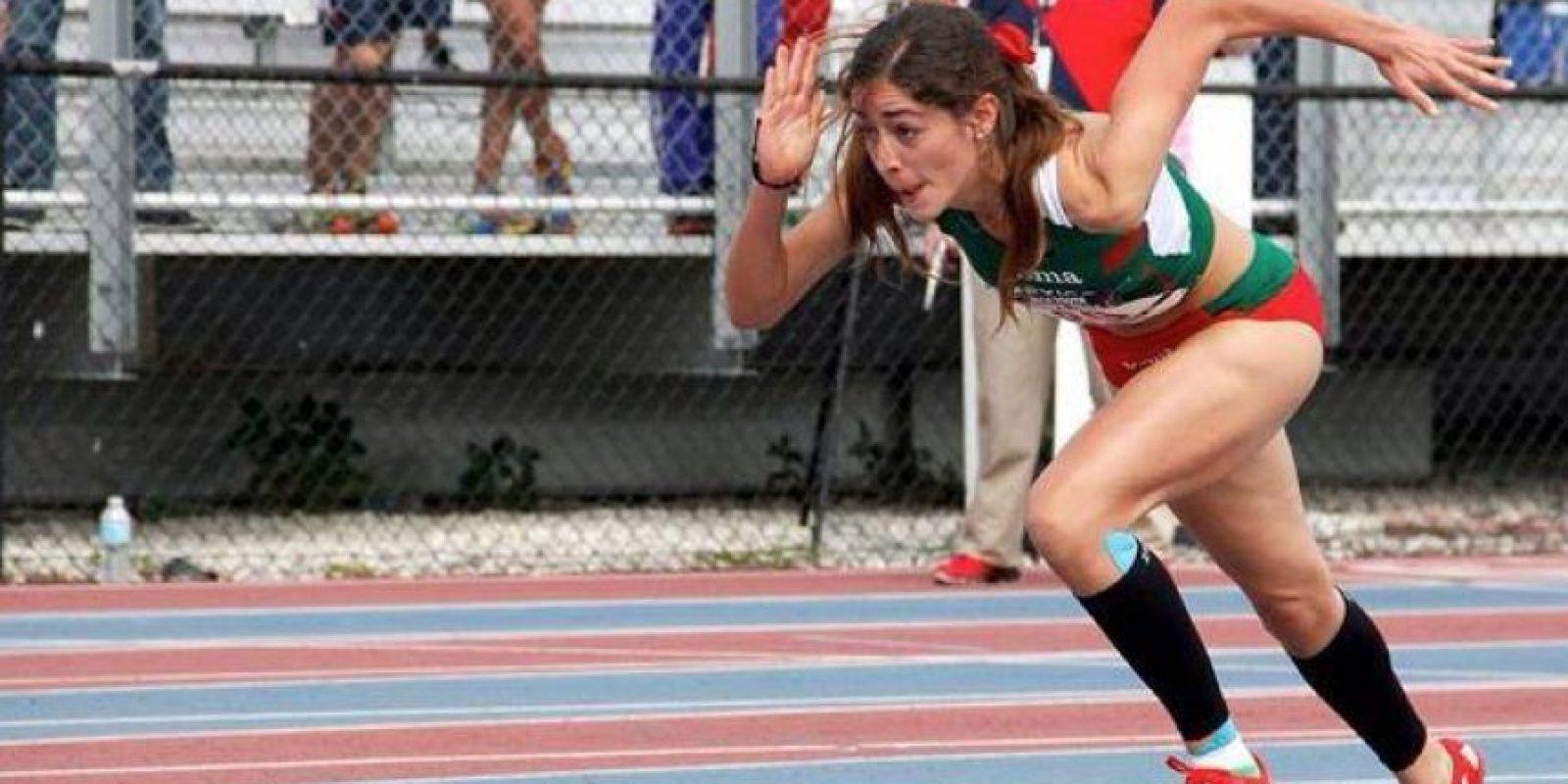 Forma parte del relevo mexicano que compite en 4X400 metros Foto:Via toronto2015.org