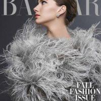 Emma Ferrer es la nieta de Audrey Hepburn. Foto:vía Harper´s Bazaar