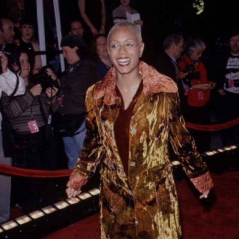 En 1998 ella tuvo a su hijo Jaden. Foto:vía Getty Images