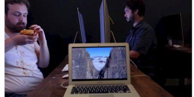 La nueva burla del iPhone 6 se enfoca en sus promocionales Foto:YouTube/Elite Daily