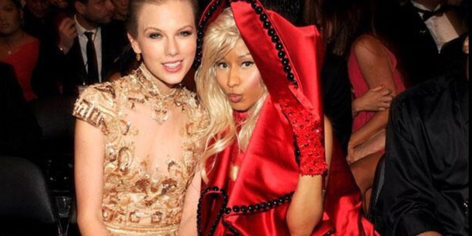 Internet gozó bellamente con la pelea de Nicki Minaj y Taylor Swift. Foto:vía Getty Images