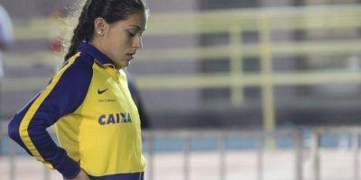 La brasileña de 27 años participa en los 100 metros, 200 metros y el relevo 4X100 metros Foto:Vía twitter.com/AnaC_Lemos