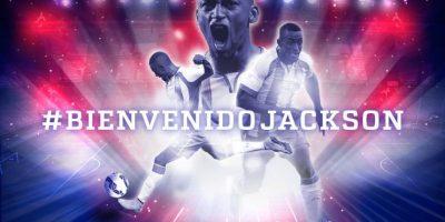 Jackson Martínez al Atlético de Madrid por 35 millones de euros. Foto:Vía twitter.com/Atleti
