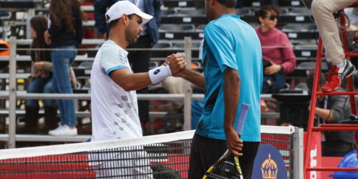 Día de contrastes para los tenistas colombianos en el ATP 250 de Bogotá