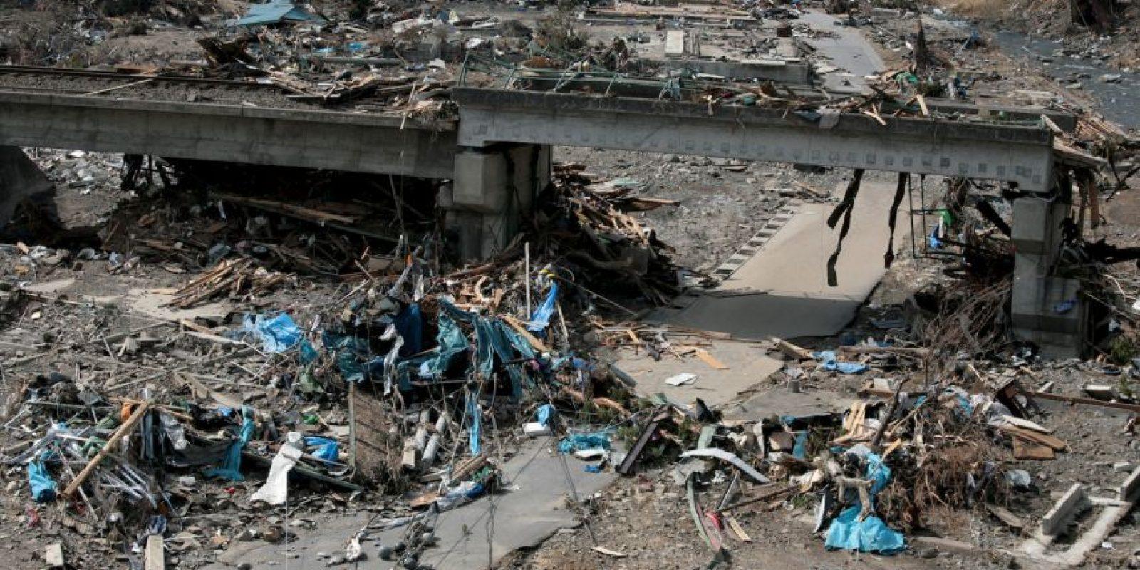 El tsunami creó olas de hasta 40.5 metros Foto:Getty Images