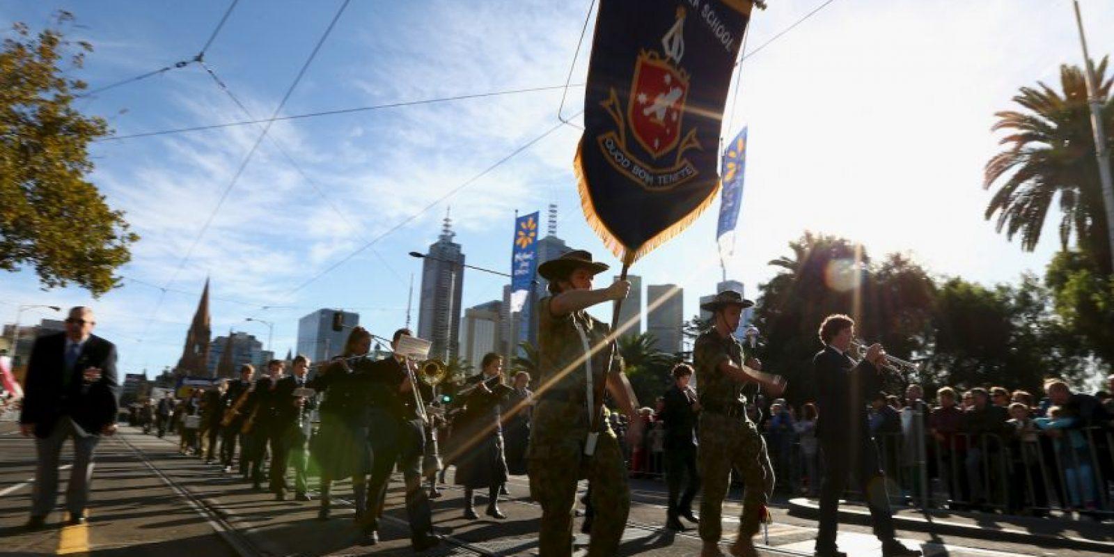 Este insitó a un niño de Australia a atentar a un policía en un desfile. Foto:Getty Images