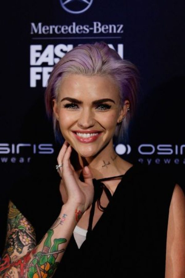 Ruby Rose es una actriz, modelo y Dj australiana. Foto: Getty Images