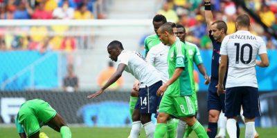 En el Mundial tuvo una polémica actuación en los octavos de final entre Francia y Nigeria Foto:Getty Images