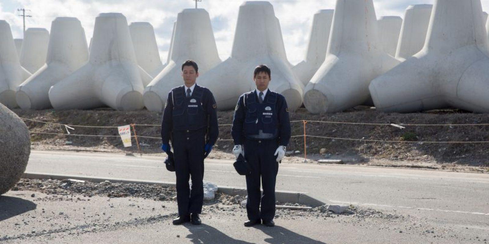 También se vieron afectadas la central nuclear de Onagawa Foto:Getty Images
