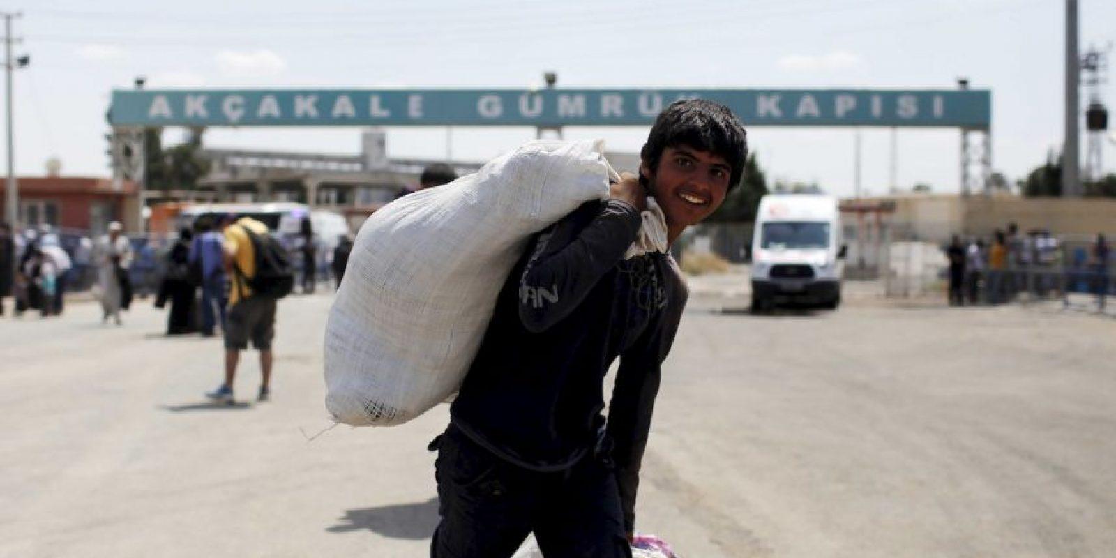 Según la ACNUR, 249 mil 726 está en Irak. Foto:Getty Images