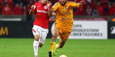 Tigres de México e Internacional de Porto Alegre buscan el segundo boleto a la final de la Copa Libertadores. Foto:Getty Images