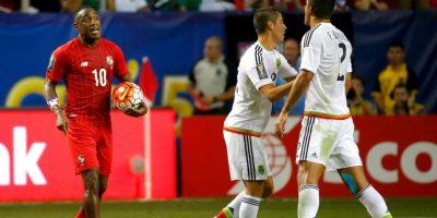 Al minuto 88′, se marcó un penal inexistente para México, y los reclamos de los panameños retrasaron el juego durante 10 minutos. Foto:Getty Images