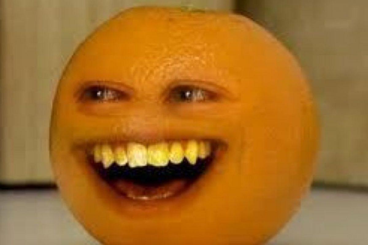 Y la naranja sonriente. Foto:vía Tumblr