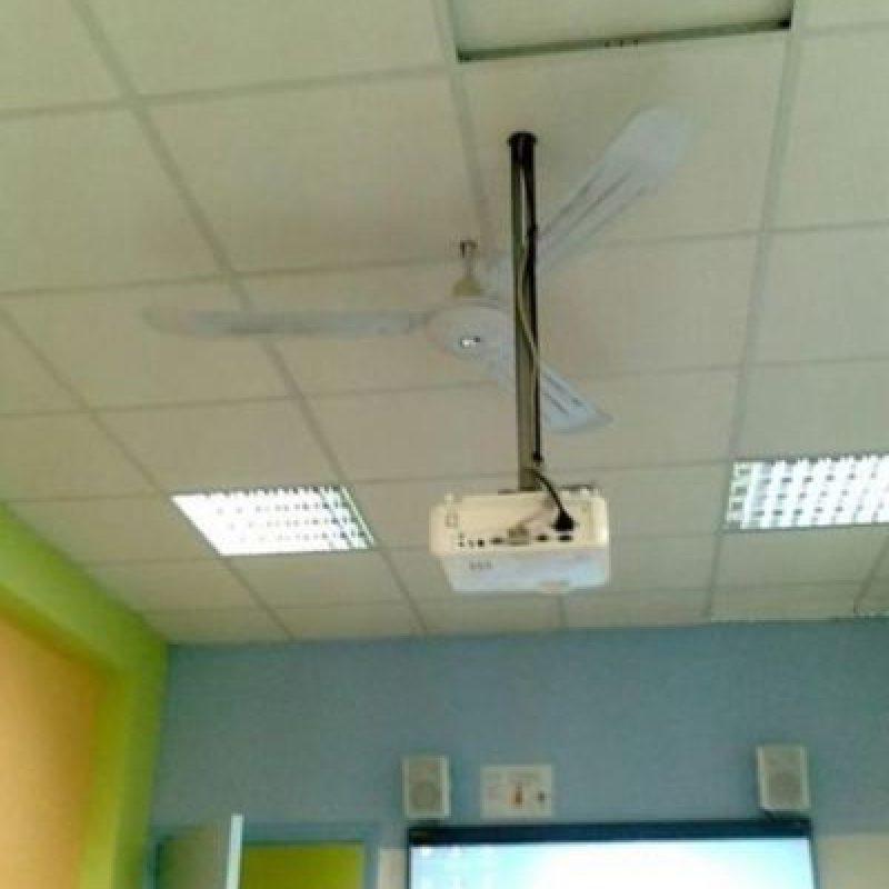 Sin ventilación gracias a ese proyector Foto:Tumblr