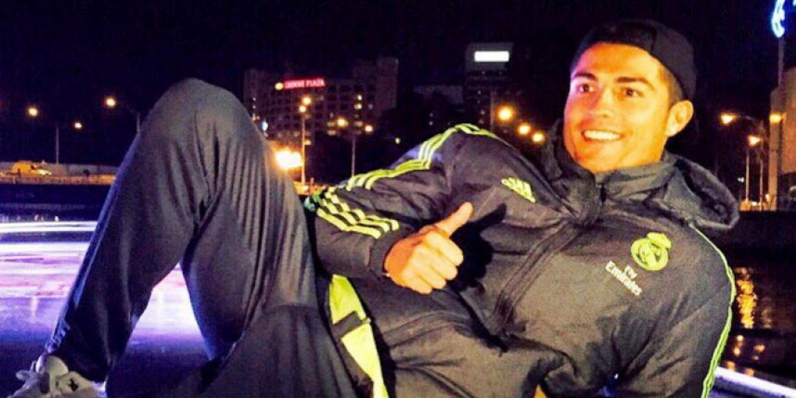 Real Madrid está en Australia para una minigira como parte del International Champions Cup. Foto:Vía instagram.com/cristiano