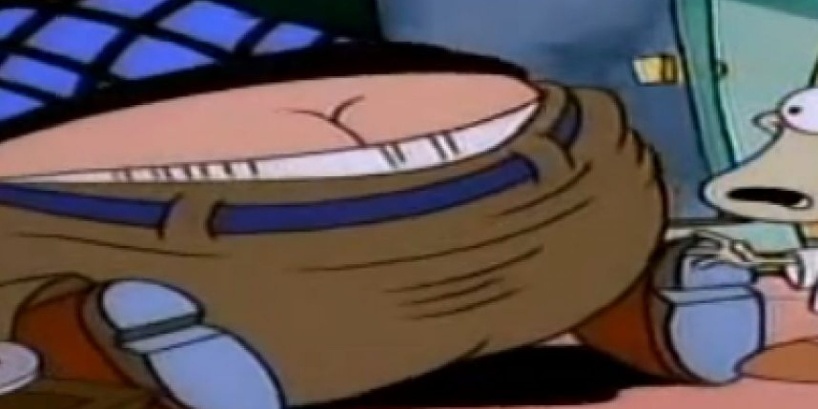 """9. """"La vida moderna de Rocko"""" está llena de referencias sexuales. Foto:vía Nickelodeon"""