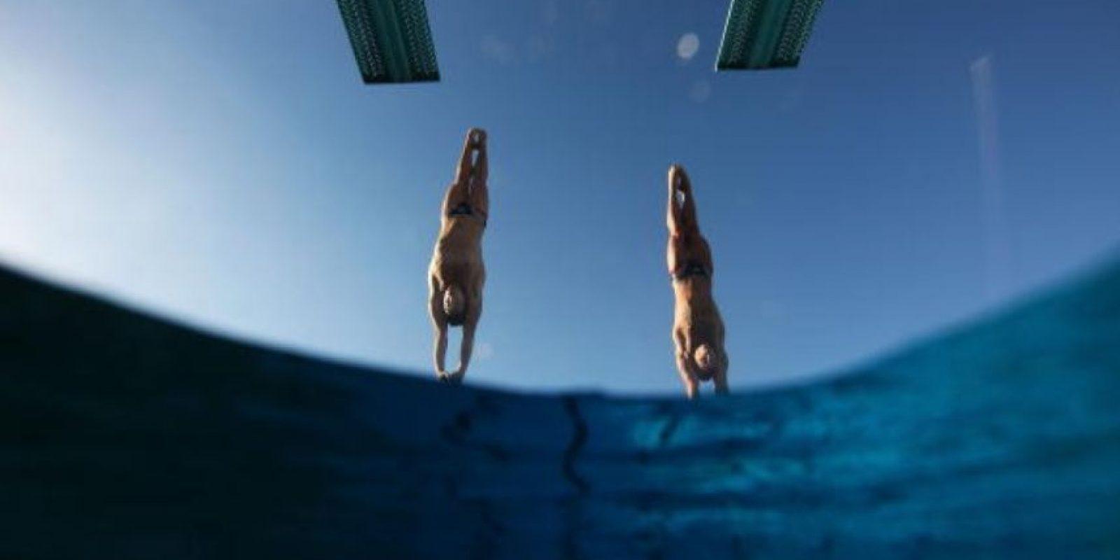 Los Juegos Olímpicos acogieron por primera vez a los saltos de trampolín como disciplina en 1904. Foto:Getty Images