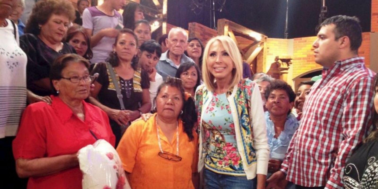Foto:Vía facebook.com/programa.laura.96