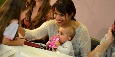 Trilce, presente en las actividades de su madre. Foto:Facebook.com/pages/Victoria-Donda-Pérez