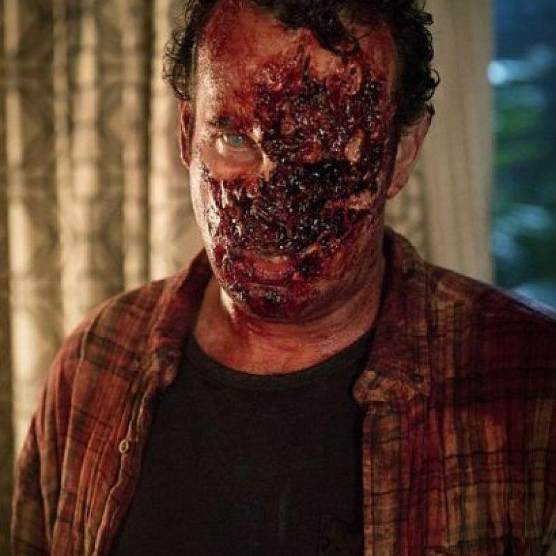 AMC reveló las primeras imágenes de los zombis que integrarán la serie. Foto:AMC