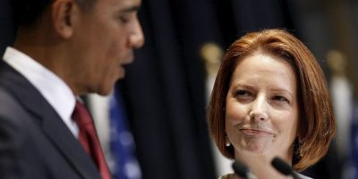 En el encuentro la política hizo la confesión. Foto:Getty Images