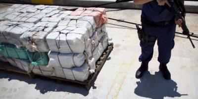 Aproximadamente llevaba un total de 8 toneladas de cocaína. Foto:Getty Images