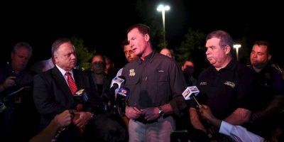 El atacante se quitó la vida al llegar la policía Foto:Getty Images