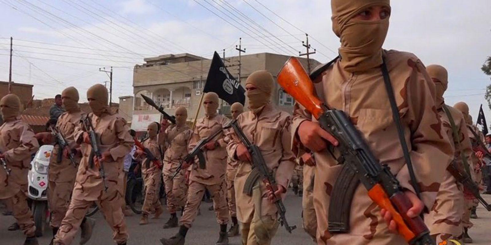 ISIS hizo público el video. Foto:AP
