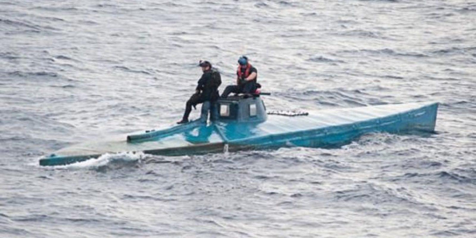 Ocho hombres abordo fueron detenidos. Foto:Vía cbp.gov
