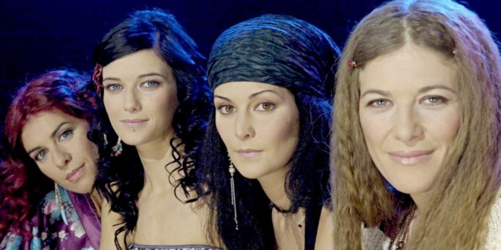 En 2006 se convirtieron en un cuarteto, pero solo siguieron actuando en España Foto:Vía facebook.com/pages/Las-Ketchup-oficial