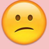 Decepción o tristeza: Pero se debe emplear para expresar confusión. Foto:Emojipedia