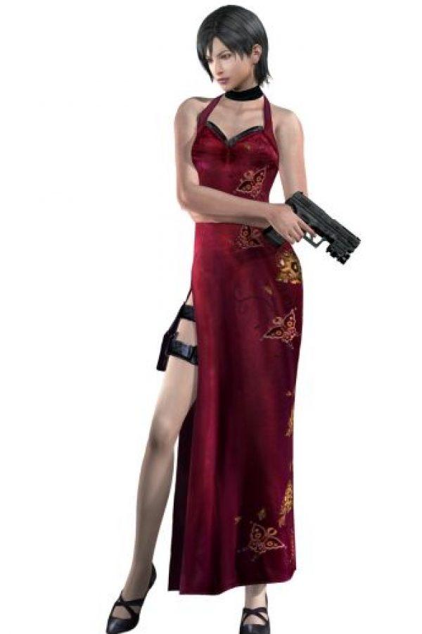 """""""Ada Wong"""" es la """"femme fatal"""" de """"Resident Evil"""", el videojuego más popular de zombies Foto:Capcom / Shinji Mikami"""