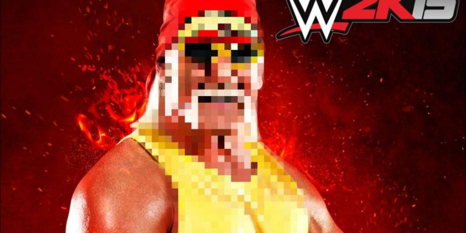 Hulk Hogan fue borrado de los registros de la WWE por comentarios racistas. Foto:facebook.com/WWEMEMES
