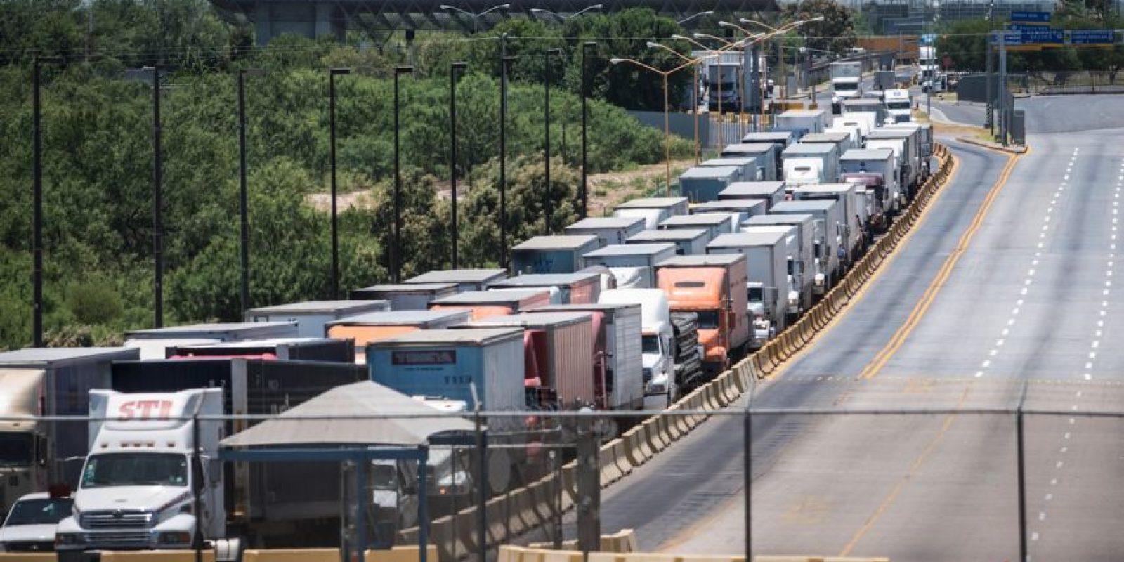 1. Donald Trump cerró la frontera, al menos por 50 minutos Foto:Getty Images