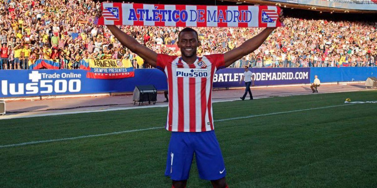 Fotos: Como un grande fue recibido Jackson Martínez en el Atlético