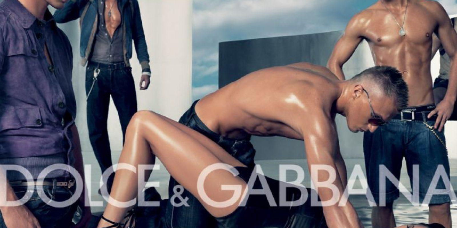Dolce & Gabbana, escena de violación que causó polémica. Foto:vía D&G