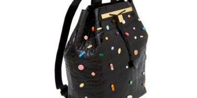 Este bolso, colaboración entre 'The Row' (marca de las gemelas Olsen) y Damien Hirst cuesta 34 mil dólares. Foto:vía The Row