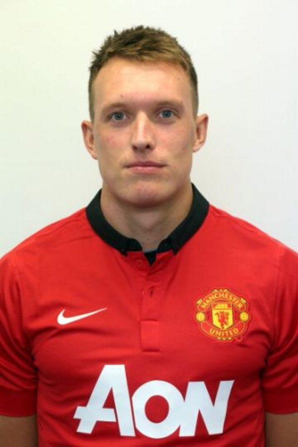 Es Phil Jones, del Manchester United. Foto:Getty Images