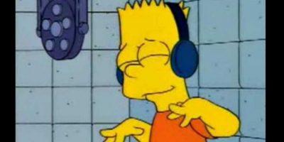 El yo no fui de Bart Simpson